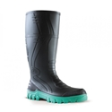 Picture of Gumboot - Black/Green Jobmaster 400mm Non-Safety Toe-APPR489845- (PAIR)