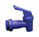 Picture of Drum Tap to fit 20/ 25lt  Drum-20mm Thread FLICK STYLE BLUE -BOTT383410- (EA)