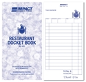 Picture of Restaurant Docket Books Duplicate 100mm x 195mm RD303  50s-DKTB338410- (PK-5)