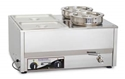 Picture of Bain Marie Roband Countertop BM4A c/w 4 Pans 1/2 Size x 100mm-EQUI238960- (EA)