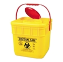 Picture of Sharps Disposal Safes 12.5LT With Lid Yellow -FAID805530- (EA)