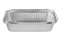 Picture of #445 / #7219  Rectangular Foil Container - 156mm x 78mm Base Dimensions x 38mm High-FCON135600- (SLV-100)