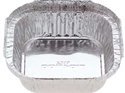 Picture of #7313 Small Square Alfoil Container - 95mm x 95mm Base Dimensions x 32mm High-FCON136753- (CTN-1000)