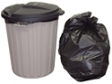 Picture of Garbage Bin Liner 54L-55L LDPE Heavy Duty Black Bags-GARB025095- (CTN-250)