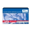 Picture of Gloves Plastic Clear HDPE  Polyethylene Large-GLOV468190- (CTN-5000)