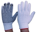 Picture of Glove -Poly/Cotton with Polka Dot Grip Pro-Ladies(red cuff)-IGLV790250- (PR)