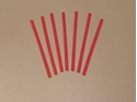 "Picture of Twist Ties Plastic 3"" -METALIC RED 75mm -MISC232255- (SLV-1000)"