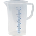 Picture of Measuring Jug 2L Clear Plastic with markings THERMO-POLY228530- (EA)