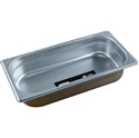 Picture of Stainless Steel Bain Marie Steam Insert Pan 1/3 size 65mm deep - 325mm x 175mm-SSTL225179- (EA)