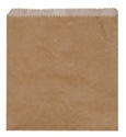 Picture of Paper Bag Brown Greaseproof Lined 1 Square 200x175mm-BROB056555- (SLV-500)