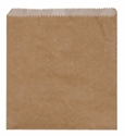 Picture of Paper Bag Brown Greaseproof Lined 2 Square 215x200mm-BROB056605- (SLV-500)