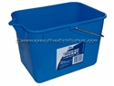 Picture of Squeeze Mop Bucket 11L Rectangle Blue-BUCK369710- (EA)