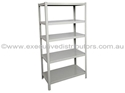 Picture of Metal Shelving Unit - Boltless - 1830H x 1220W x 457D - Silver Grey Colour-FURN358420- (EA)