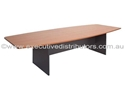 Picture of Boardroom Table - Boat Shaped 2 Piece top - 3000mm x 1200mm-FURN358493- (EA)