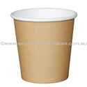 Picture of 4oz Single Wall Coffee Cups - Brown/Kraft-HCUP107930- (CTN-1000)