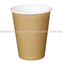 Picture of 12oz Single Wall Coffee Cups - Brown/Kraft-HCUP107934- (CTN-1000)