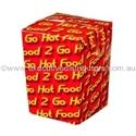 Picture of Cardboard Chipbox Small 75 x 75 x 100 - Castaway  058-SNAK152901- (CTN-500)