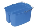 Picture of Divided Bucket 18 Blue With Handle - Oates-BUCK369905- (EA)