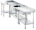 Picture for category Stainless Steel Benches & Accessories