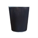 Picture of 12oz Black Ripple Cup-HCUP109937- (CTN-1000)