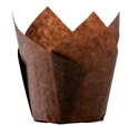 Picture of Muffin Tulip Baking Cups - 60-90mm High x  60mm Base - BROWN-MISC232530- (CTN-2000)