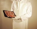 Picture of Apron Polyethylene Disposable White - 117cm Long - Individually Wrapped-APPR494107- (PACK-40)