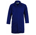 Picture of Gown Lab Coat Polyester / Cotton with pocket 200gsm - NAVY-APPR495252- (EA)