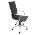 Picture of Executive Chair - High Back, Infinite Tilt Lock, Chrome Arms and Base-FURN358721- (EA)