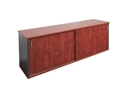 Picture of Lockable Credenza 1200W x 450D x 730H - Appletree / Ironstone Coloured - Managers Range-FURN360435- (EA)