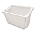 Picture of 68L Crate / Storage Bucket (No. 15) - Food Grade - 645x413x397mm - Natural Colour-STOR900360- (EA)
