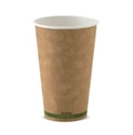 Picture of 16oz KRAFT single wall Biopak Coffee Cup-BIOD077031- (SLV-50)