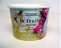 Picture of Cup Paper Sundae ice-cream 4oz/ 120ml (La Fruita Print)-CCUP103700- (SLV-50)