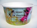 Picture of Cup Paper Sundae ice-cream 5oz/ 150ml (La Fruita Print)-CCUP103701- (SLV-50)