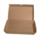 Picture of Family Cardboard Snack Box Kraft Board - 290mm x 170mm Base Dimensions x 76mm High-SNAK153285- (CTN-100)