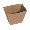 Picture of Cardboard Upright Chip Box Kraft Brown Board - 70mm x 45mm Base Dimensions x 90mm High-TRAY164978- (CTN-500)