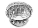 Picture of #5018 Confoil Silver Foil Pudding Bowl - 42mm Round Base x 43mm High-FCON136705- (CTN-500)