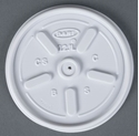 Picture of Flat Lid fits 10&12oz Dart Foam Cup -FLID123750- (CTN-1000)