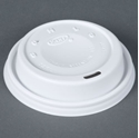 Picture of Cappa Lid fits 10&12oz Dart Foam Cup-FLID123800- (SLV-100)