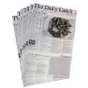 """Picture of Newsprint """"Seafood Print"""" 203mm x 305mm-WRAP076220- (REAM-500)"""