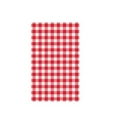 Picture of Gingham Greaseproof Paper Deli Wrap or Basket Liner 190x310mm, Red and White-WRAP076230- (PACK-200)