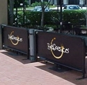 Picture of Belfresco Coffee Wind Break Barrier  - 1 Metre-COFA234794- (EA)