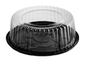 Picture of Cake Dome (Clear) & Black Base 210x75(H)-CAKE147400- (SLV-200)
