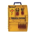 Picture of Portable Padlock station with 5 Safety Padlocks - Brady-MSAF870105- (EA)
