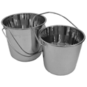 Picture of stainless Steel Seamless Bucket - 9L-BUCK370030- (EA)