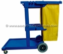 Picture of Janitors Cleaning Cart With Bag-CLEA384810- (EA)