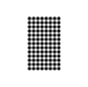 Picture of Gingham Greaseproof Paper Deli Wrap or Basket Liner 190x310mm, Black and White-WRAP076231- (PACK-200)