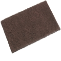 Picture of Industrial Heavy Duty Scourer Brown 230mmx150mm - Oates SC-903-SCRU374613- (SLV-10)