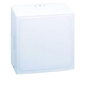 Picture of N4 Kimberly Clark Plastic Dispenser for Hand Towel-Interfold Tork Zigzag/KC Single-fold-DISP431110- (EA)