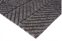 Picture of Micah Premier Rollstock Entrance Matting-Smooth Back-  in Blacksmoke NON-Edged - CUSTOM SIZE-MATT359290- (EA)