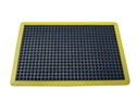 Picture of Mat -Bubble Mat - 600mm x 900mm - Fully Edged with Yellow Border - Anti-fatigue-MATT359755- (EA)